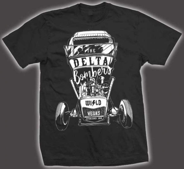 T-shirt: Hot Rod