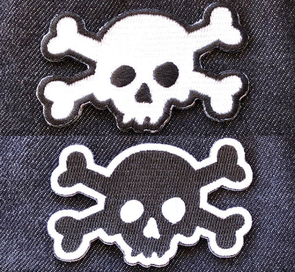 Patch: Skull Cut-Out
