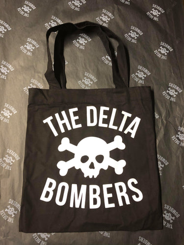 Small Classic Skull Tote Bags
