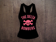Load image into Gallery viewer, T-Shirt: Women's Pink Skull Tank Top