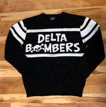 Load image into Gallery viewer, Delta Bombers Motorcycle Knit Sweater