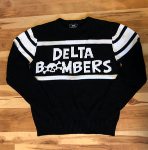 Delta Bombers Motorcycle Knit Sweater