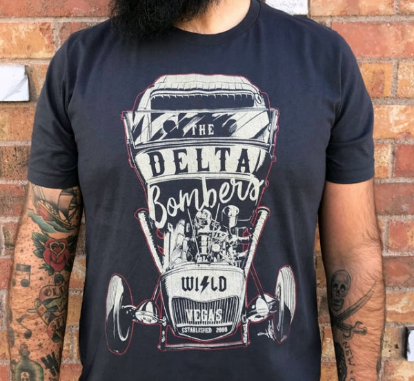 T-Shirt: Color Hot Rod Grey T-Shirt