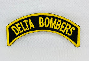 Patch: 4.5 Inch Shoulder Rocker Yellow