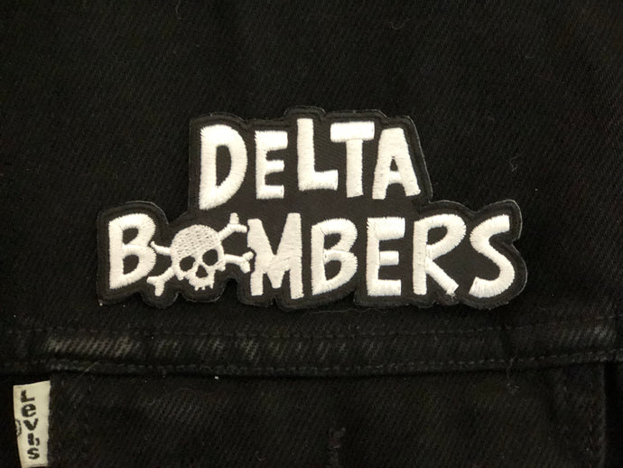 Bomber Font Patch Cut Out