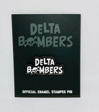 Load image into Gallery viewer, Bomber Font Enamel Pin