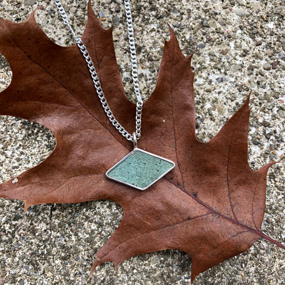 Graycliff Restoration Copper & Sterling Silver Necklace