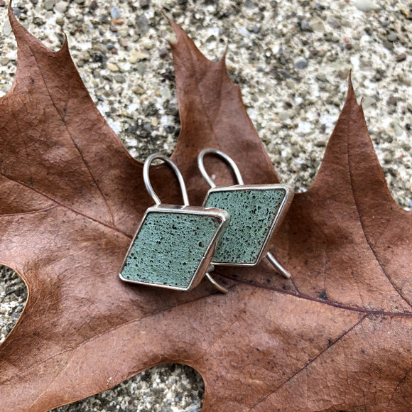 Graycliff Restoration Copper & Sterling Silver Earrings