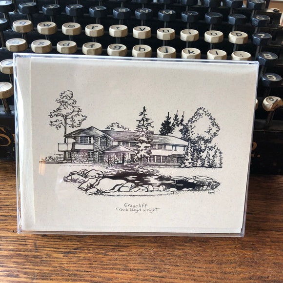 Graycliff Ink Drawing Note Cards