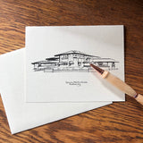 Martin House Ink Drawing Note Cards