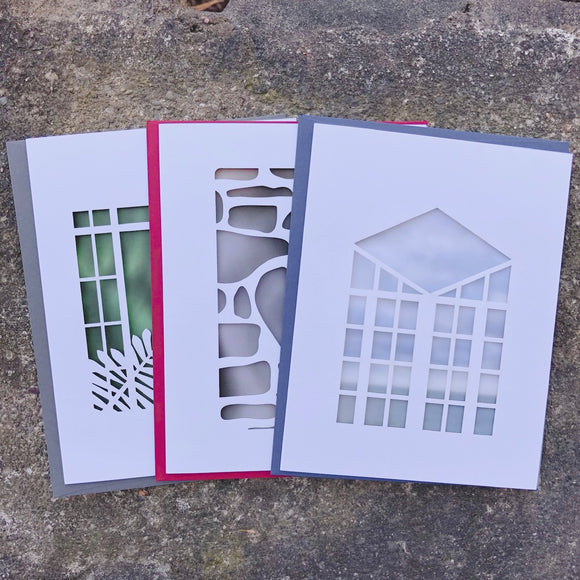 Graycliff Laser Cut Note Cards Three Pack