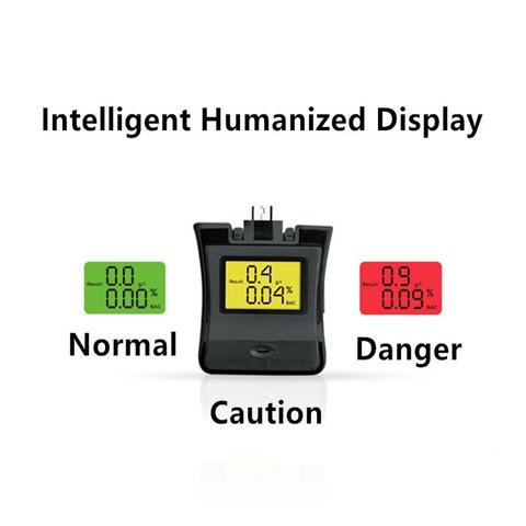 Duesgo- NEW-Protable-LCD-Breath-Alcohol-Detector-Tester-Breathalyzer-Analyzer-Backlight-Display-Alchotester-For-Android-iPhone-Samsung