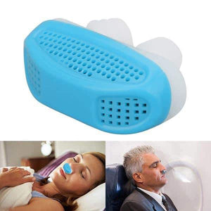 Duesgo-Soft Silicone Anti Snore Device Nasal Dilators Stop Snoring Nose Clip Air Purifier