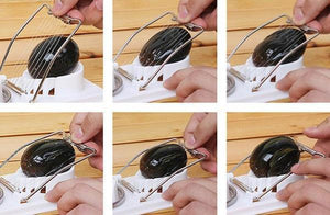 Duesgo 2 in1 Egg Slicers