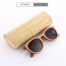 Duesgo Do Wood/Grey Bamboo Sunglasses