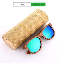 Duesgo Du Wood/Green Bamboo Sunglasses