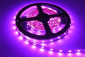 Duesgo Pink / No power adapter 3528 LED Strips Light