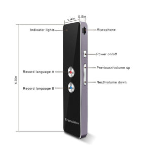 Duesgo Portable Smart Voice Translator