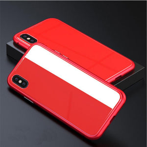 Duesgo Red / For iPhone X Ultra Magnetic Adsorption iPhone Case