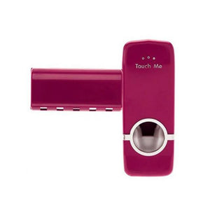 Duesgo Wine Red Automatic Toothpaste Dispenser
