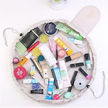 duesgo.com-Lazy Drawstring Cosmetic Travel Pouch- makeup stuffs
