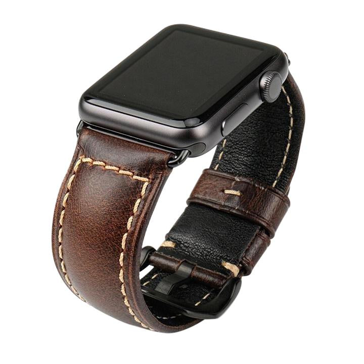 Genuine Oil Wax Leather Band