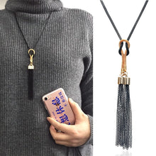 Tassel Long Sweater Chain