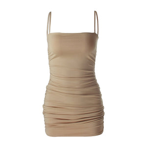 Spaghetti Strap Bandage Mini Dress