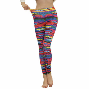 Knitwear Leggings High Waist Leggings