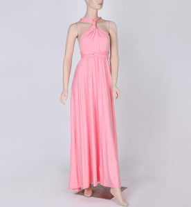 Convertible Bohemian Casual Bandage Evening Dress