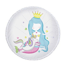 Mermaid Round Towel