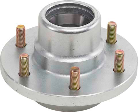 UFP BY DEXTER : 6,000 lb 6-LUG HUB/ROTOR ASSEMBLY