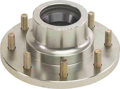 UFP BY DEXTER : 7,000 lb 8-LUG HUB/ROTOR ASSEMBLY
