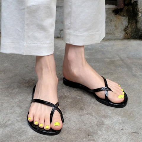 Casual Round   Toe Flat Slippers