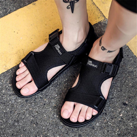 Men's fashion velcro beach sandals