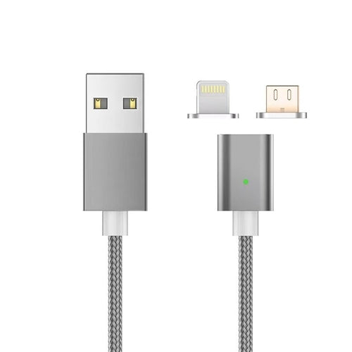 Lightning & Micro USB Magnetic Data Cable