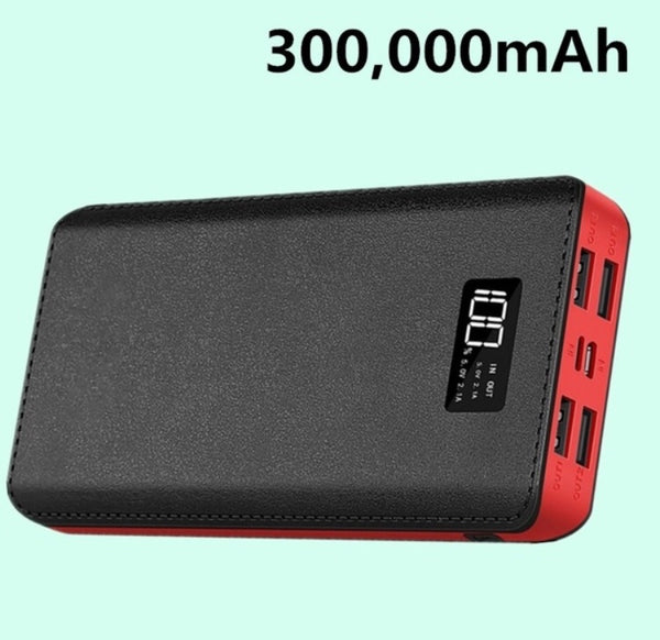 300000mAh power bank portable