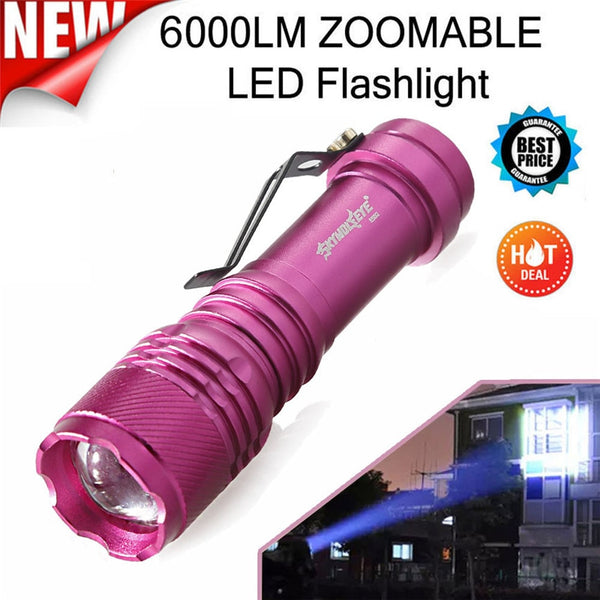 Skywolfeye Flashlights Battery Type: 14500,AA