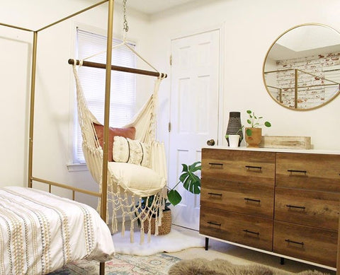 Boho Style Hammock Chair Bedroom Inspiration - Limbo ...