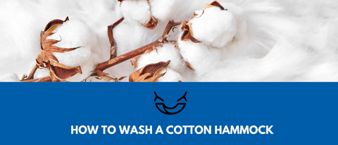 how to wash clean a cotton hammock chair
