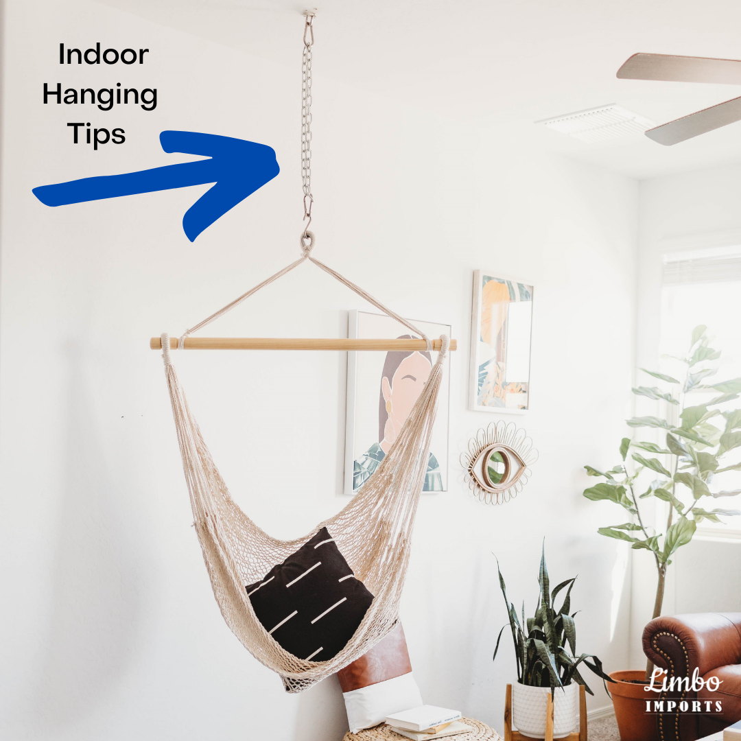 hang indoor hammock swing chair from the ceiling