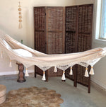 Luxury Macrame Crochet Hammock