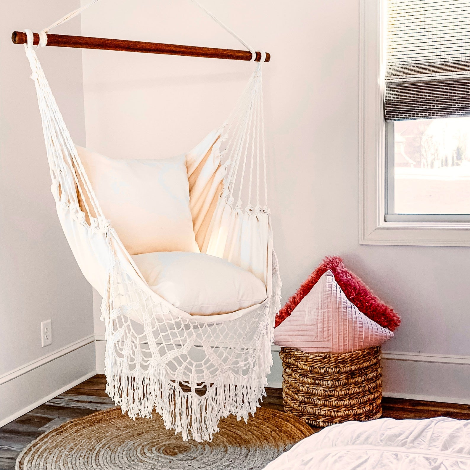 macrame hammock swing chair