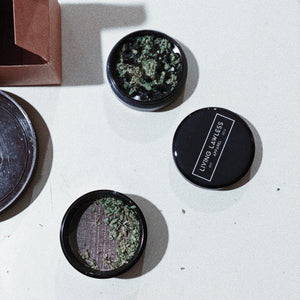 Living Lawless Apparel Aluminum Herb Grinder