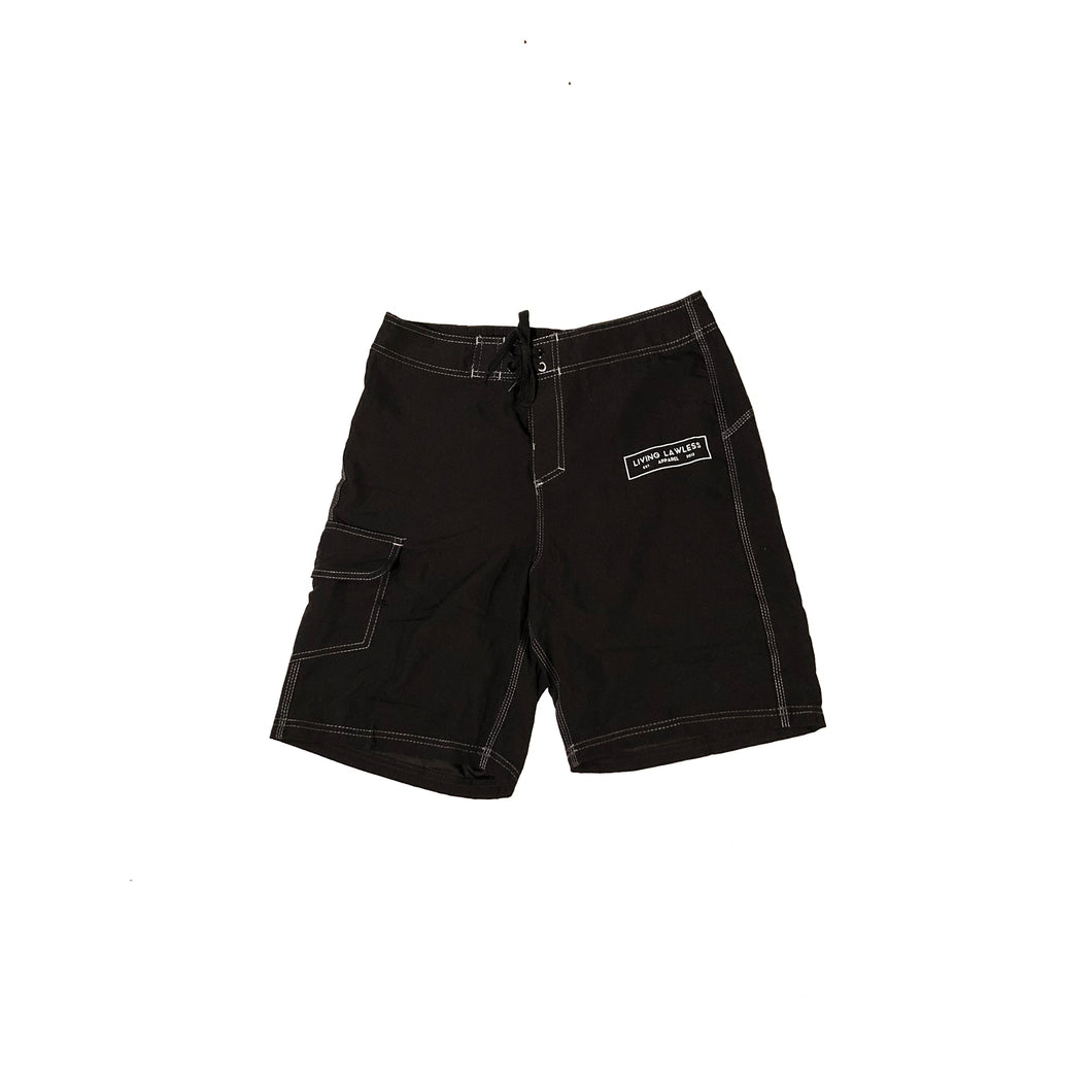 Black Mens Swim Shorts