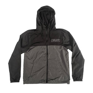 Black/Graphite Lightweight Windbreaker Jacket