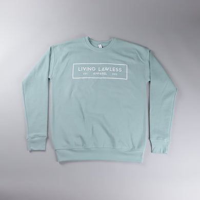 Dusty Blue Unisex Crewneck