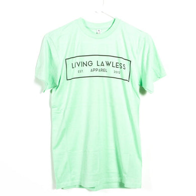 Mint T Shirt w/White Logo