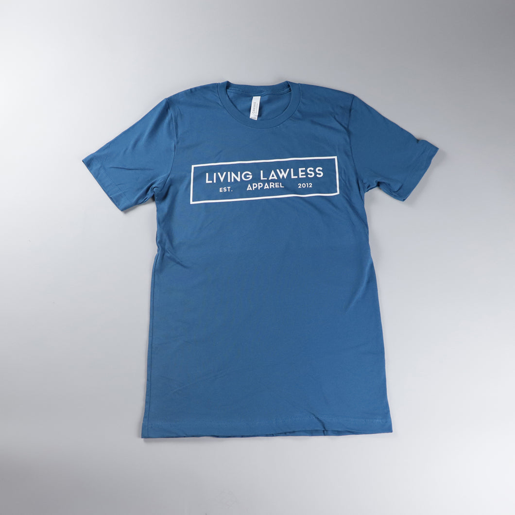 Deep Teal T Shirt w/White Logo