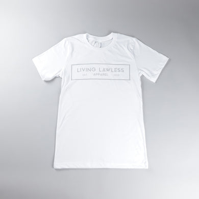 White Reflective T Shirt